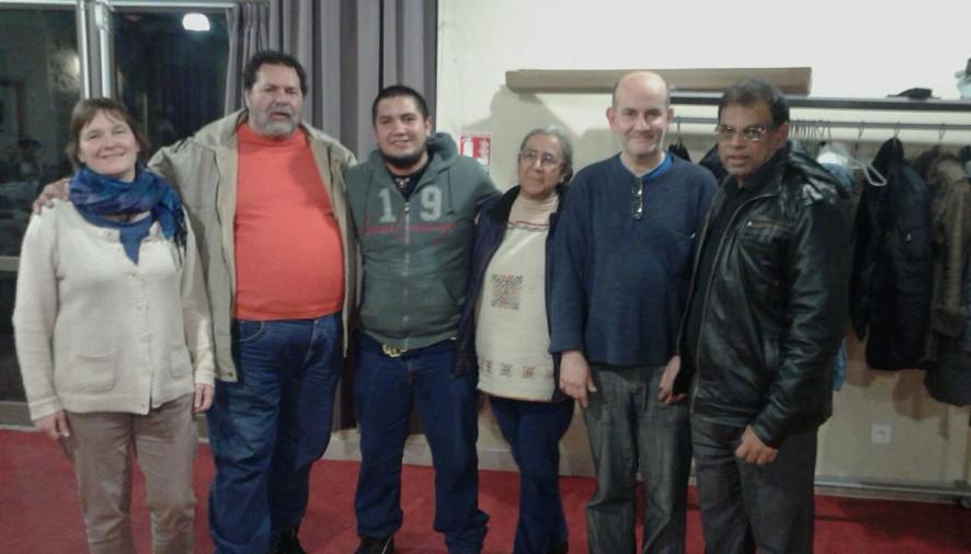 International Alliance of Inhabitants Strategy meeting at Le Berferie, Paris,