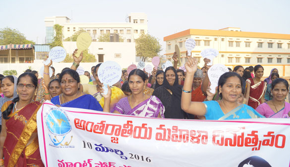 Women Corporators Join Domestic Workers to Celebrate Women's Day