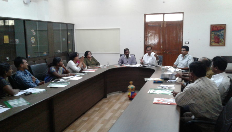 Meeting Take Stock of Housing Rights of Unorganised Workers in Two Telugu States
